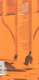 Masse, Memoire, Fiction - 4ème de couverture - Format classique