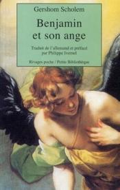 Benjamin Et Son Ange - Couverture - Format classique