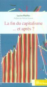 Fin du capitalisme ... et pares ? (la) - Intérieur - Format classique