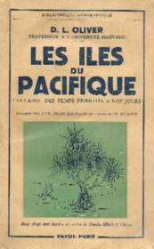 Les iles du pacifique: l'océanie, des temps primitifs à nos jours - Couverture - Format classique
