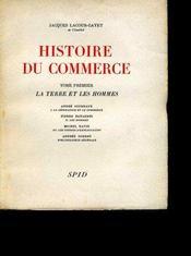 Histoire du commerce. - Intérieur - Format classique