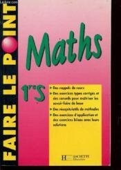 Mathematiques 1°s - Couverture - Format classique