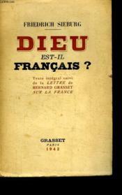 Dieu Est Il Francais? - Couverture - Format classique