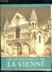 Le Departement De La Vienne. - Couverture - Format classique