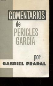 Comentarios De Pericles Garcia - Couverture - Format classique