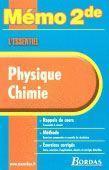 Physique-chimie ; 2nde - Couverture - Format classique