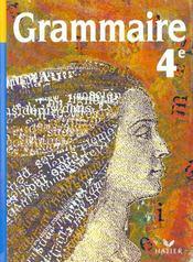 Grammaire ; 4ème ; livre de l'élève (édition 1998) - Intérieur - Format classique