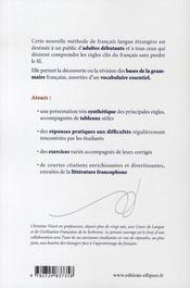 Le FLE sans perdre le fil...méthode de français langue étrangère - 4ème de couverture - Format classique