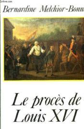 Proces De Louis Xvi - Couverture - Format classique