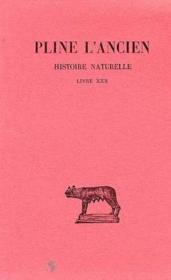Histoire naturelle L30 - Couverture - Format classique