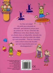 Mes petits jeux educatifs ; smiling friends - 4ème de couverture - Format classique