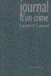 Journal Dun Crime - Couverture - Format classique