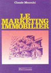Marketing immobilier - Couverture - Format classique