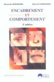 Encadrement Et Comportement 2e Ed. (2e édition) - Intérieur - Format classique