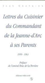 Lettres Du Cuisinier... - Couverture - Format classique