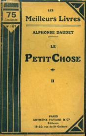 Le Petit Chose. Tome 2. Collection : Les Meilleurs Livres N° 107. - Couverture - Format classique