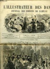 L'Illustrateur Des Dames - Journal Des Soirees De Famille N°48 1re Annee - Couverture - Format classique