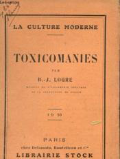 Toxicomanies - Couverture - Format classique