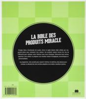 La bible des produits miracle vinaigre blanc bicarbonate de soude citron argile produits d - Recette bicarbonate de soude vinaigre blanc ...