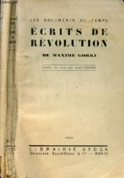Ecrits De Revolution - Couverture - Format classique