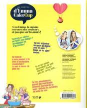 Les recettes d'Emma Cakecup - 4ème de couverture - Format classique