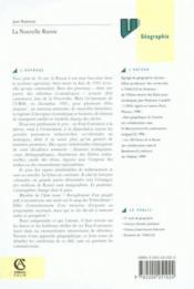 La Nouvelle Russie ; Geographie Economique Et Regionale ; 2e Edition - Couverture - Format classique