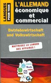 Allemand Economique Et Commercial - Intérieur - Format classique