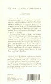 La Heronniere Babel 713 - 4ème de couverture - Format classique