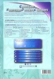 Maladies infectieuses 2005 - 4ème de couverture - Format classique