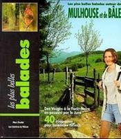Balades autour de Mulhouse et de bale - Couverture - Format classique