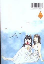 Inugami le réveil du dieu chien t.3 - 4ème de couverture - Format classique