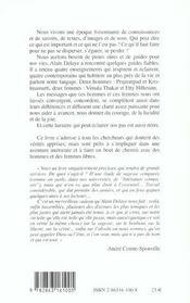Sagesses concordantes - 4ème de couverture - Format classique