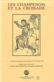 Champenois et la croisade (les) - Couverture - Format classique