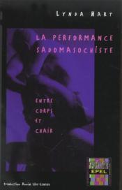 La Performance Sadomasochiste - Couverture - Format classique