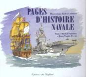 Pages d'histoire navale - Couverture - Format classique