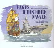 Pages d'histoire navale - Intérieur - Format classique