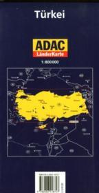 Turkei / Turquie - 4ème de couverture - Format classique
