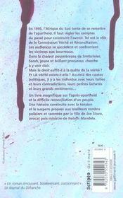 Poussiere Rouge - 4ème de couverture - Format classique