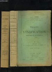 Traite De Vinification Pratique Et Rationnelle - Tome 1 Et 2 - Couverture - Format classique