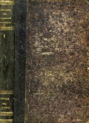 LES HISTORIETTES DE TALLEMANT DES REAUX. MEMOIRES POUR SERVIR A L'HISTOIRE DU XVIIe SIECLE. TOME I. - Couverture - Format classique