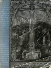 Triduum De Cloture Du Jubile De La Redemption. Lourdes 25-28 Avril 1935. - Couverture - Format classique