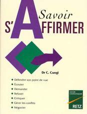 Savoir S'Affirmer - Intérieur - Format classique