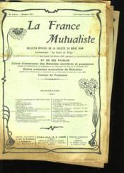 La France Mutualiste (Lot De 4 Bulletin) - Couverture - Format classique