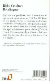 Bourlinguer - 4ème de couverture - Format classique