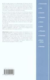 La dissertation sociologique - Couverture - Format classique