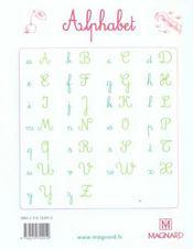 Cahier d'écriture ; GS (édition 2005) - 4ème de couverture - Format classique