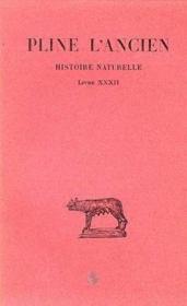 Histoire naturelle L32 - Couverture - Format classique
