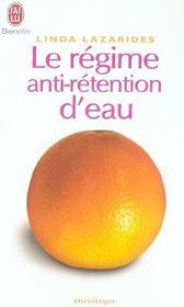 Le Regime Anti-Retention D'Eau - Linda Lazarides