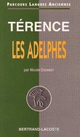 Terence : Les Adelphes-Parcours Langues Anciennes - Couverture - Format classique