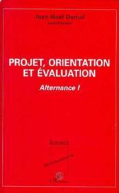 Projet, Orientation Et Evaluation - Couverture - Format classique